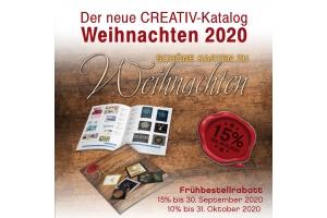 Creativ-Katalog Weihnachten 2020