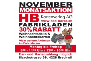 November Monatsaktion