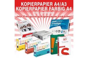 KOPIERPAPIER A4 / A3 - KOPIERPAPIER FARBIG A4