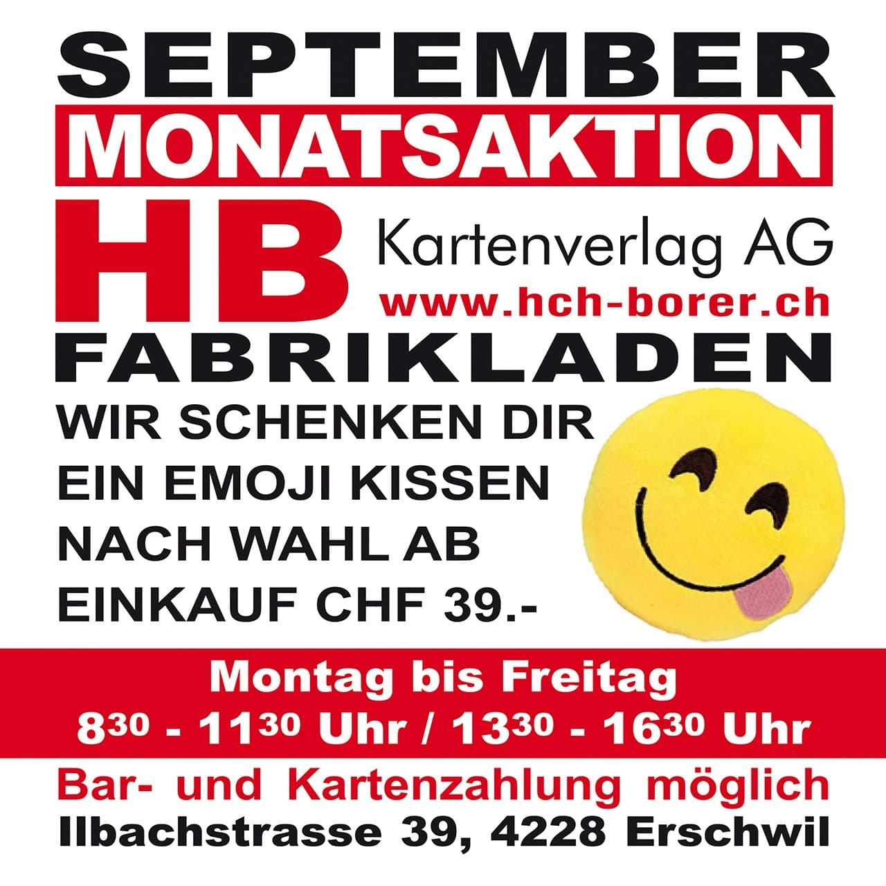 September Monatsaktion